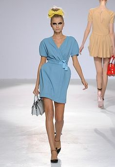 Couture in the City Luella Bartley, Well Dressed, Style Me, Ready To Wear, Fashion Dresses, Shirt Dress, Couture, Retro, Pastels