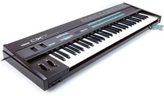 Yamaha DX7 - would love to have one of these in my home studio - used to be a Brian Eno workhorse.