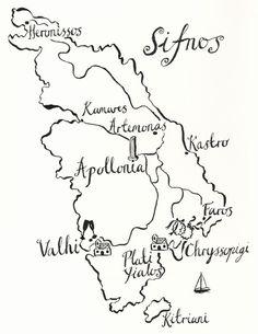 Sifnos map