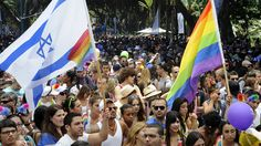 Marcha del Orgullo Gay en Tel Aviv, Israel