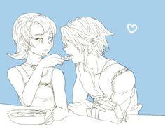 Llia and Link Sketches