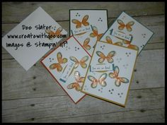 Watercolor Wings - Stamp a stack idea! Video Tutorial on the site! Stampin' UP!, 2014-2016 In Colors, stamp buying tips