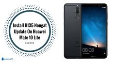 Install B135 Nougat Update On Huawei Mate 10 Lite [Europe]  Install B135 Nougat Update On Huawei Mate 10 Lite  Good news for Huawei Mate 10 Lite user. Now B186 nougat update is available for manually install. Some days ago Huawei officially sends B186 update on Huawei Mate 10 Lite via OTA. Yesterday we found B186 firmware in firmware finder. We provide official B186 firmware with CUST file link. Huawei Mate 10 Lite B135 Nougat Update brings latest April 2018 Google security patches for…