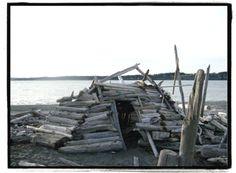 Beach fort! needs a fireplace