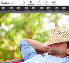 The Instant Web Image Editor: Pikock Pimagic