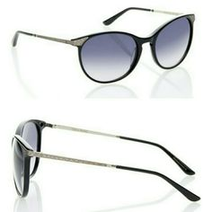 New Vera Wang Cat-Eye Embellished Sunglasses
