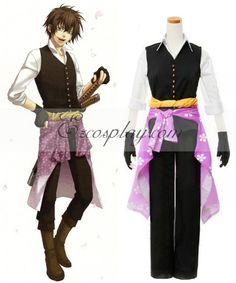 Hakuouki Shinsengumi Kitan Heisuke Todo Cosplay Costume  Kitan 48a26c6bd79c