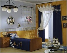 pirate+theme+bedroom+ideas-decorating+pirate+theme+bedrooms+boys+nautical+style+decorating.jpg 554×441 píxeles