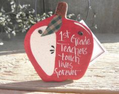 1st Grade (any grade) Salt Dough Apple Ornaments Etsy :: Your place to buy and sell all things handmade