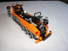 Lego Truck, Tow Truck, Trucks, Lego Fire, Lego Models, Lego Stuff, Lego Creations, Scale Models, Boats