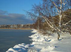 Laajalahti Bay at Munkkiniemi Winter Springs, World, Beach, Water, Outdoor, Gripe Water, Outdoors, The Beach, Beaches
