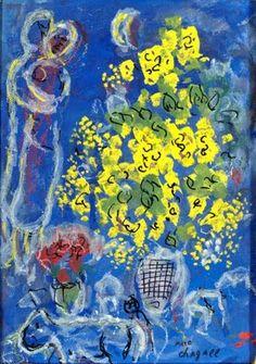 Stringimi di Vanessa Vallascas #Quadro di Marc Chagall