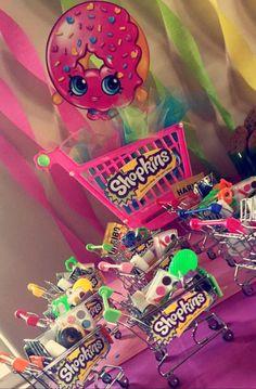 Shopkins Party Favors -Mini Shopping carts