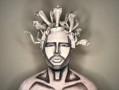 My version of #medusa 🐍   Inspired in #origamiart and #facefeatures  Products: @maccosmetics  #robsonoliveiramua #origami #snakes #snakeorigami #snakemakeup #shot #Wow #pb #blackandwhitemakeup #blackandwhite #artisticmakeup #greecemythology #mythology #grecce #origamimakeup #makeupartist #makeupartistc #carton #studiofixwhite #macartistrelations #maccosmetics #mac #carnaval
