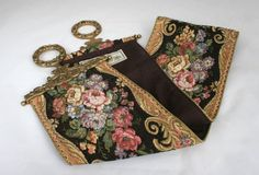 Vintage Tapestry Bell Pull