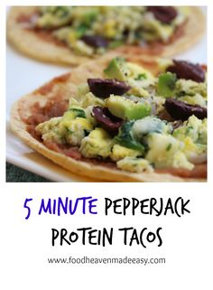 These Pepperjack Protein Tacos are the fastest taco Tuesday recipe you'll find. Not to mention they're loaded with plant-based protein! Healthy Family Meals, Healthy Foods, Healthy Recipes, Tuesday Recipe, Taco Tuesday, Food Heaven Made Easy, Breakfast Tacos, Plant Based Protein, How To Cook Eggs