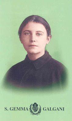 Мария Джемма Умберта Пиа Гальгани — святая Римско-католической церкви, мистик. В католической церкви известна как Джемма Гальгани.