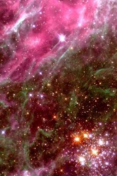 #Hodge301 is a star cluster located in the #TarantulaNebula about 168,000 light years away in the Large Magellanic Cloud Galaxy. The Tarantula Nebula is a star forming region, fueled by the star clusters hidden inside. The stars of Hodge 301 formed tens of millions of years ago. The most massive quickly ran through their fuel and erupted into supernovae. by MyohoDane