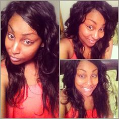 Protective Style full sew in naked virgin Brazilian hair weave body wave