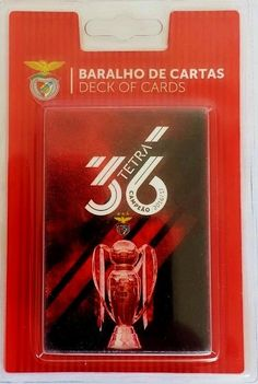 S.L. BENFICA Tetra Champion 36 Tittles Deck PLAYING CARDS Licensed Product | eBay