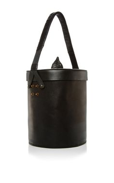 Structured Leather Shoulder Bag by ALENA AKHMADULLINA for Preorder on Moda Operandi