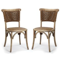 Found it at Wayfair - Dining Cane Side Chair
