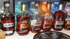 Les Jura...L'ensemble de la gamme de Isle of Jura..