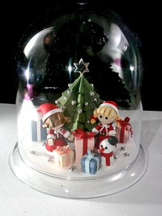 QuiLLed CHRISTMAS SCENE Under a Dome