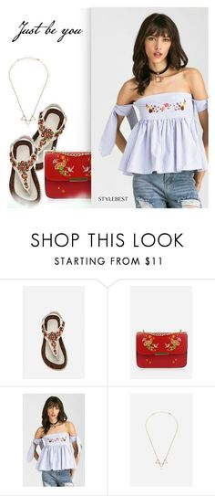 """""""Street Style by Stylebest"""" by dressedbyrose ❤ liked on Polyvore"""