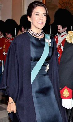 2-1-2016 Crown Prince Frederik and Crown Princess Mary at the New Year reception - 2nd Day