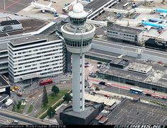 Amsterdam-Schiphol. (Airport)