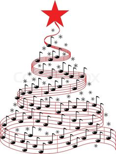 Image result for christmas music clipart