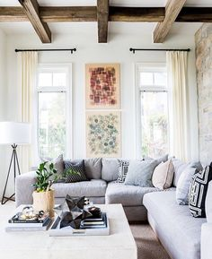 Beams with gray sectional
