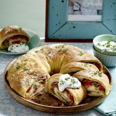 Tortano – italienisches Pizzabrot Rezept | LECKER