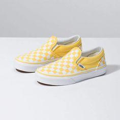 44ba0378eff Kids Checkerboard Slip-On Vans Checkerboard, School Shoes