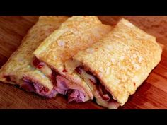 Pár minut a bez droždí, plněné pizzy, které překvapí každého! # 415 - YouTube Relleno, Parfait, Quiche, Sandwiches, Rolls, Appetizers, Low Carb, Bread, Snacks