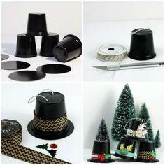 Mini chapeaux décoratifs