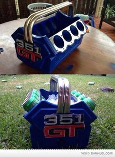 Beer Cooler Engine, I Need This In My Life - Damn! LOL