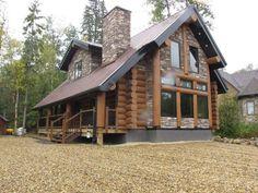 Image result for Show images of Log Homes