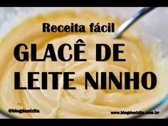 Falso Chantilly - Falso Glacê - YouTube