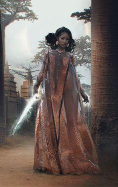 Black Fantasy Female Art