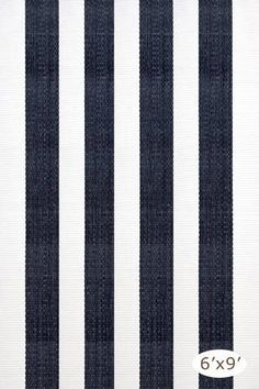 @rosenberryrooms is offering $20 OFF your purchase! Share the news and save!  Dash & Albert Lakehouse Indoor/Outdoor Rug in Navy and White - 6 x 9 Feet #rosenberryrooms