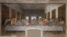Leonardo da Vinci  La última cena 1495-1497 Cinquecento