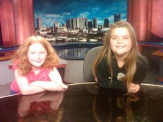 Grandaughter playing newscaster!!!