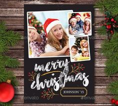 25 Beautiful Christmas Card Templates for Photoshop 25 Beautiful