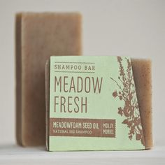 Molly Muriel Meadow Fresh Shampoo Bar (5 oz) - Shampoos & Conditioners - Hair Care - Bath & Beauty - Shop By Category | Conscious Box
