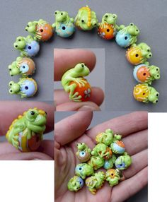 """http://www.corinabeads.com,"""" frog convention"""""""