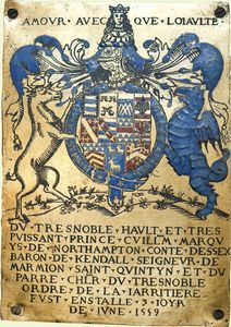 -Royal Collection - The Knights of the Garter under Henry VIII