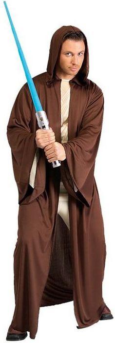 Disfraz de Jedi™ de Star Wars™ para hombre. Disponible en www.vegaoo.es
