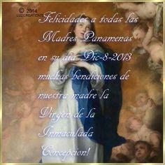 Dia de la Madre en Panama 8 de Diciembre.....
